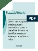 PROSPECÇÃO GEOTÉCNIC - 01