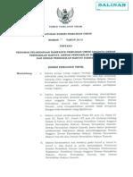 PKPU NO 01 Tahun 2013 TTG Pedoman Pelaksanaan Kampanye