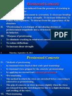 L13 Prestressed Concrete