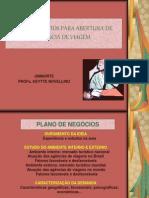 PROCEDIMENTOS PARA ABERTURA DE AGÊNCIA DE VIAGEM