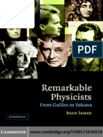 SEJARAH FISIKA-Remarkable Physicists