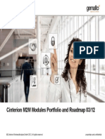 Cinterion M2M Modules Portfolio and Roadmap 2012 03