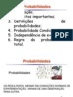 Noções Probabilidades