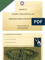Evolucion de Las Organizaciones I.