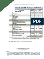 CONFORMIDAD VALORIZACION N°5 DEL CONSORCIO