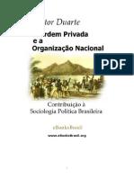 a ordem privada e a organização politica nacional nestor duarte