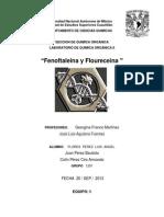 Fluoresceina y Fenolftaleina Reporte