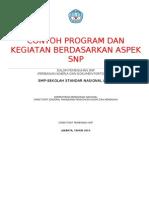 Contoh Program Berdasarkan Aspek Snp Ada Ket Di Skl