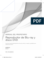 Manual Bluray LG
