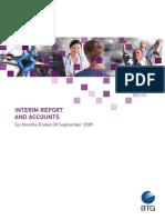 Btg Interim Report Accounts 2009