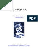 La esencia del yoga - Jose Manuel Martinez Sanchez