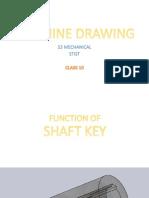 Machine Drawing S3 Mech [Class 10]