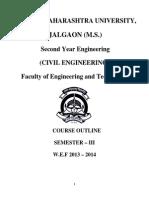 2013-14 SE Civil Syllabus