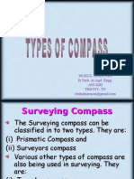 Compass Types in Surveying