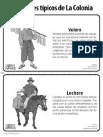 Personajes Tipicos de La Colonia