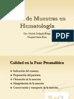 Toma de Muestra Hematologia