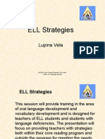 Cohorta Ibr6 Ell Strategies