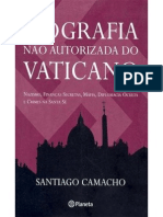 Biografia No Autorizada Del Vaticano - Santiago Camacho