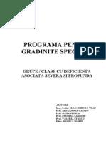 Plan Invatamant Pentru Grupele Speciale
