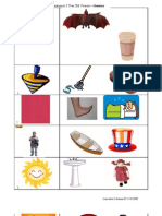 Phonological Awareness Pictures - 3 Year Old
