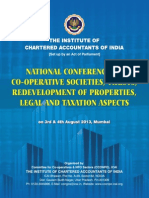 National Conference on Co-Operative Societies, Trusts, Organized by Institute of Chartered Accountants of India - Cell Tower Radiation Hazards and Solutions