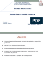 Regulación y Supervisión Prudencial