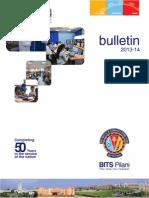 Bulletin 2013 14