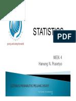Statistika Theory Week 5 Distribusi Probabilitas Diskrit Compatibility Mode