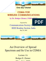 CDMA FOR WIRELESS COMMUNICATIONS
