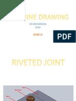 Machine Drawing S3 Mech [Class 11]