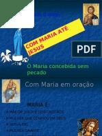 Com Maria até Jesus