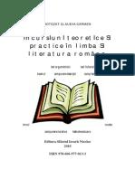 Incursiuni Teoretice Si Practice in Limba Si Literatura Romana