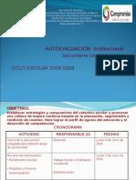 Autoevaluación 2009