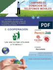 E-cooperación Campaña de donación de teléfonos móviles