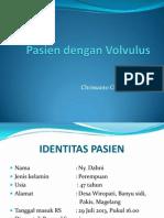 Pasien Dengan Volvulus