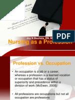 01 Nursing as a Profession(2)