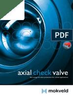 Mokveld-Brochure Axial Check Valve En