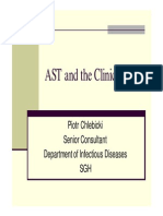 AST and the Clinician