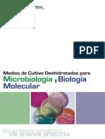 Catalogo Medios de cultivo