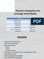 Telecom Leveraging Social Media