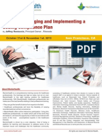 Creating Managing Implementing Coding Compliance Plan Info