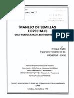 Manejo de semillas forestales_guía técnica para el extensionista forestal