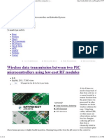 Wireless Data Transmission Between Two PIC Microcontrollers Using Low-cost RF Modules _Embedded Lab