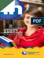 International House Study Abroad Catalogue 2013