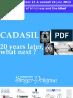 Elisabeth Tournier-Lasserve - CADASIL, molecular genetics and genetic counseling