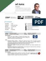 Mohammad Juma - Resume - September 2013