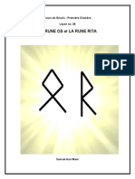 leçon 28 - première chambre - (la rune Os et la rune Rita )