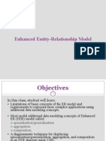 Enhanced Entity Relationships Model