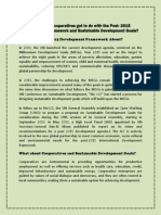 Cooperatives and Sustainable Development