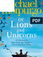 Of Lions and Unicorns by Michael Morpurgo - Extract